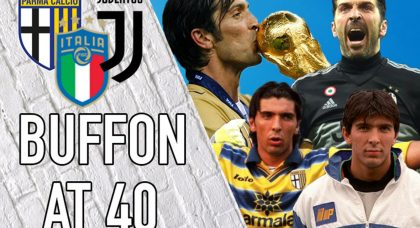 40 things to know about Buffon on his 40th birthday