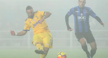 Higuain catches Atalanta cold