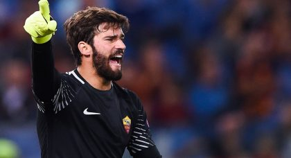 Liverpool take lead in race for Roma goalkeeper