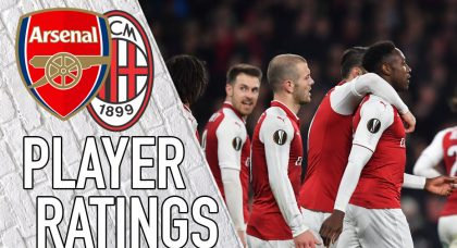 Arsenal Player Ratings: Danny doesn't dive… Does he?