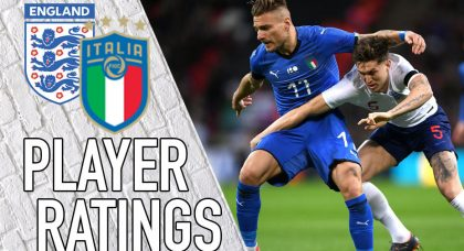 Italy Player Ratings: Azzurri and out for Immobile