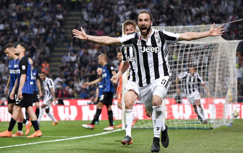 Higuain and Cancelo included in Juventus squad