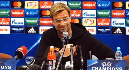 Klopp: The win is for Liverpool fans all over the world