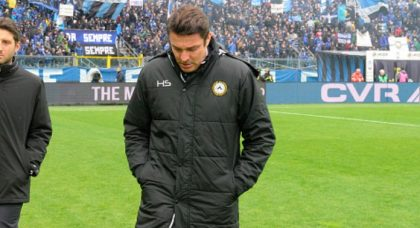 Eleven straight defeats points at problems above Massimo Oddo at Udinese