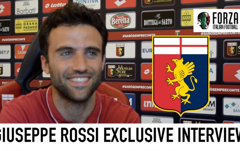VIDEO: Giuseppe Rossi Exclusive Interview | Genoa, Fiorentina, Azzurri, Juventus | Part 1