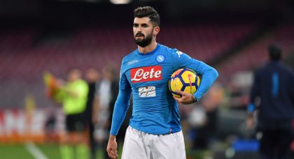 Inter keeping tabs on Napoli full-back