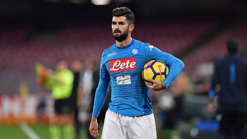 Chelsea continue pursuit of Napoli full-back
