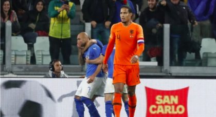 Experimental Azzurri lose lead late in disappointing draw