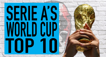 Top 10 Serie A players at the 2018 World Cup