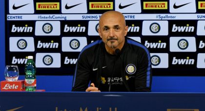 Spalletti: It's not good to have to play in front of an empty stadium
