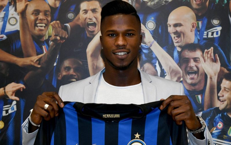 Keita: I've always dreamt of playing for Inter