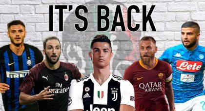 5 reasons to get excited about the new Serie A season