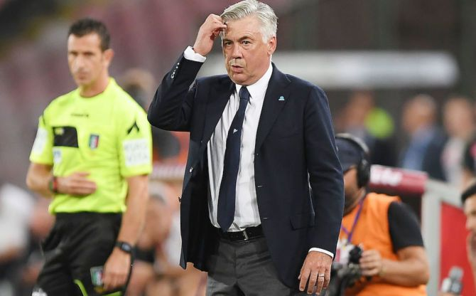 Ancelotti: I'm neither angry nor disappointed despite Napoli draw