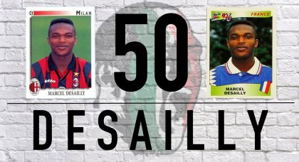 Desailly at 50: AC Milan's reluctant midfielder