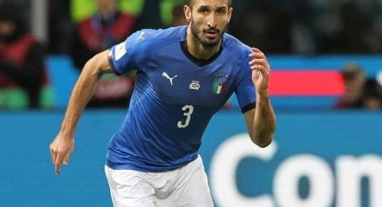 Chiellini: Italy missed out on a generation of defenders