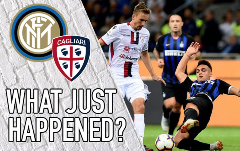 VIDEO: Inter 2-0 Cagliari – What Just Happened?