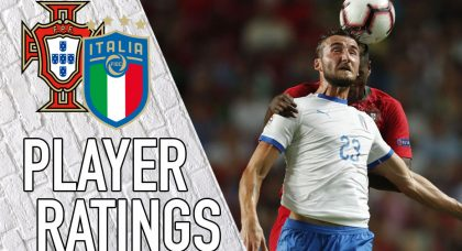 Italy Player Ratings: Portugal Pounce, Azzurri Flounce