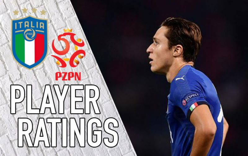 Italy Player Ratings: Substitutes make amends for Mancini