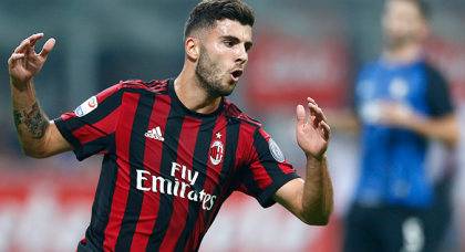AC Milan confirm Caldara and Cutrone out of Atalanta clash