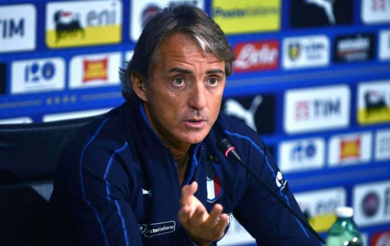 Mancini: Let's hope Italy's forwards keep scoring