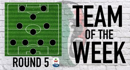 Serie A Team of the Week   Round 5
