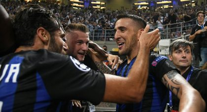 Vecino at the death as Inter down Tottenham