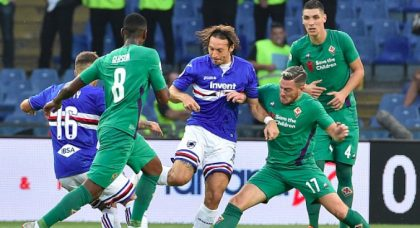 Sampdoria and Fiorentina can't be separated in entertaining affair