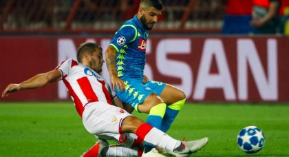 Frustration in Serbia as Red Star Belgrade hold Napoli