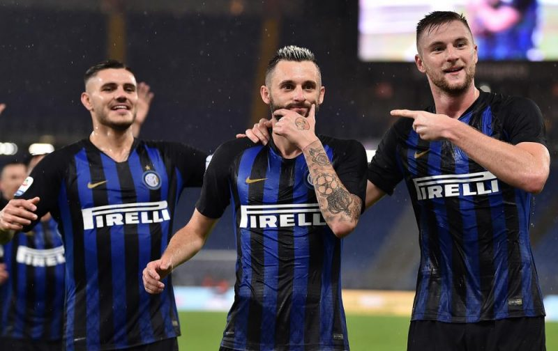 Inter sweep Lazio aside to go second