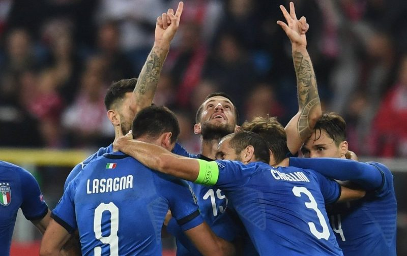 Italy's Euro 2020 qualifying fixture list revealed