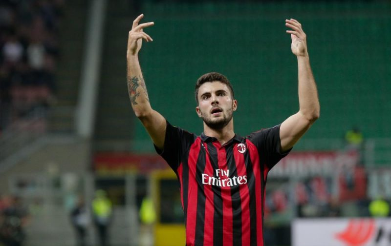 Cutrone inspires AC Milan's superb Olympiacos comeback