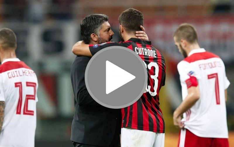 VIDEO: Gattuso rings the changes for AC Milan, and it worked
