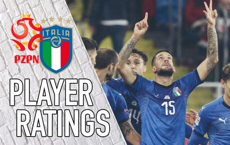Italy player ratings: Believe in Biraghi