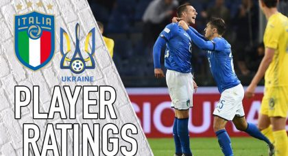 Italy Player Ratings: Bernardeschi the best