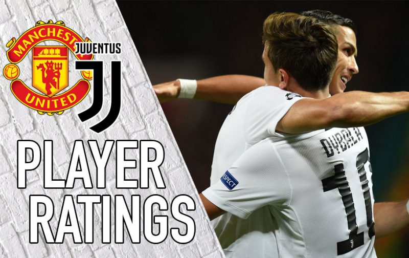 Juventus player ratings: Deadly Dybala downs Red Devils