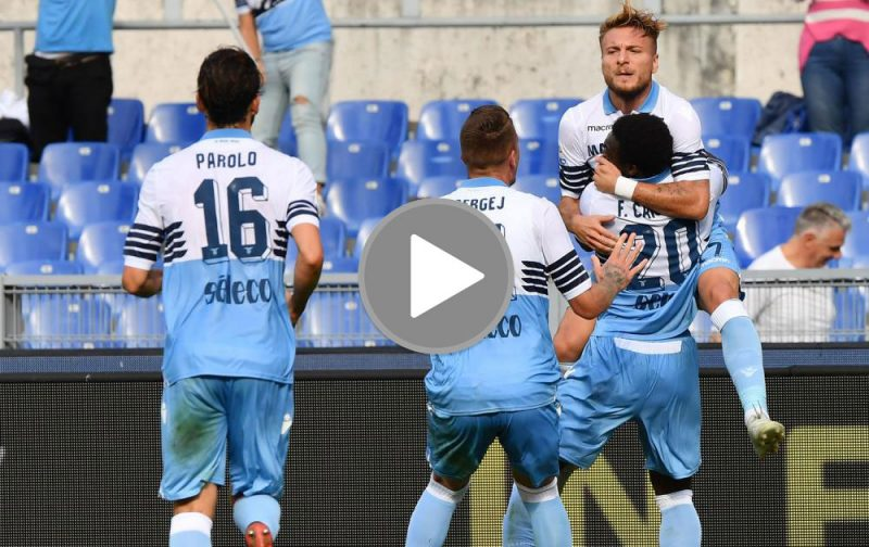 VIDEO: Lazio sneak past Fiorentina
