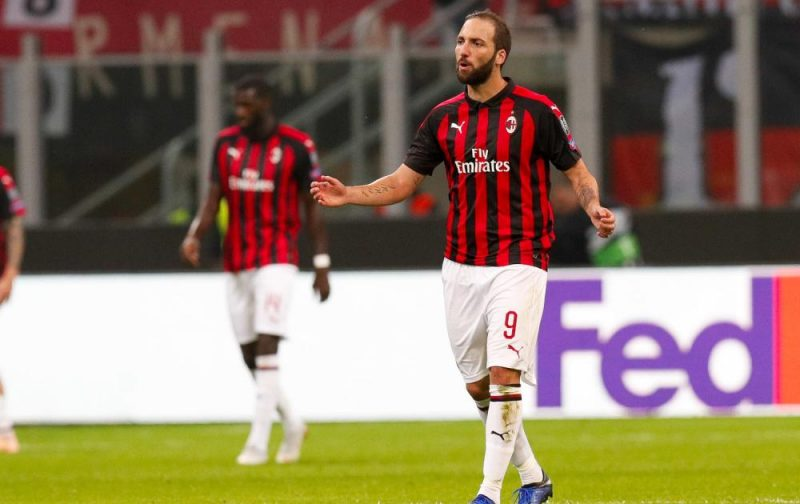 Leonardo: Higuain must work and focus on AC Milan while he is here