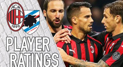AC Milan Player Ratings: Suso the hero
