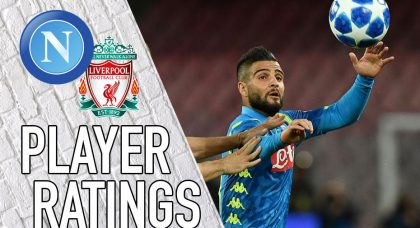 Napoli Player Ratings: Insigne sinks Liverpool