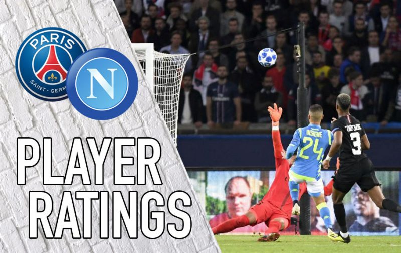 Napoli player ratings: Insigne shines in Paris