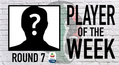Serie A Player of the Week   Round 7