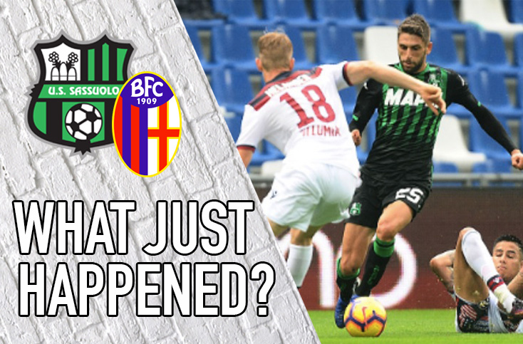 VIDEO: Sassuolo 2-2 Bologna | What Just Happened?
