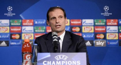 Allegri: Ajax deserved to win, Juventus fell apart