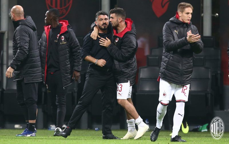 What a difference 90 minutes makes for AC Milan