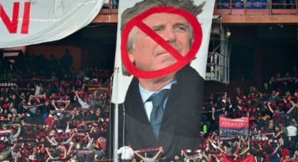 Enrico Preziosi continues to make a joke of Genoa with constant coaching changes