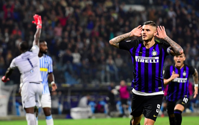 Inter reliant on Icardi again as they overcome strong SPAL