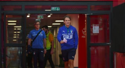 Italy coach considering young strikers for future internationals