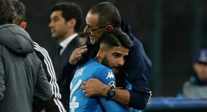 Sarri rates Napoli star Insigne as Italy's best