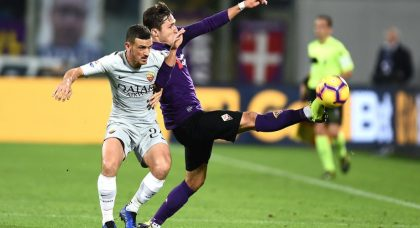 Florenzi rescues a point for Roma at Fiorentina