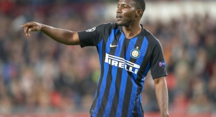 Asamoah: My experience can help Inter against Tottenham